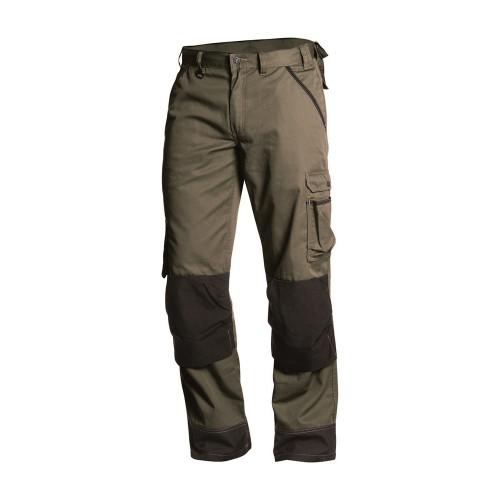 Pantalon de travail paysagiste homme Vert armée/Noir - BLAKLADER - 145418354699