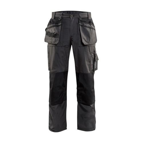 Pantalon de travail Artisan été Gris Foncé/Noir - BLAKLADER - 152518459899