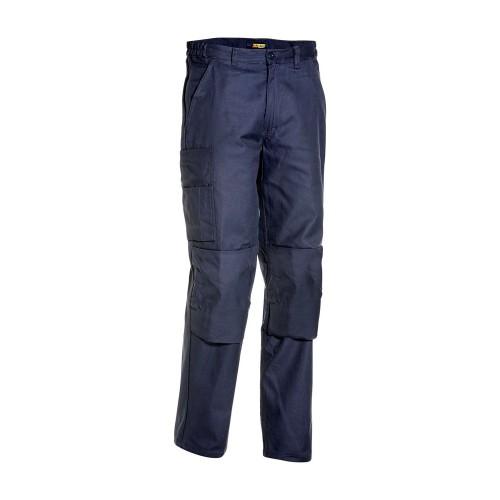 Pantalon de travail Industrie Poches Genouillères Marine - BLAKLADER - 172612108800