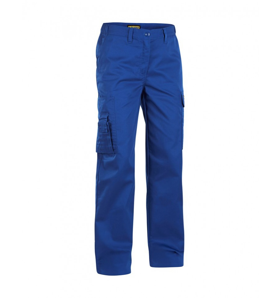 Pantalon Service Bleu Roi Femme Travail De 712018008500 Blaklader pwUxdqZq