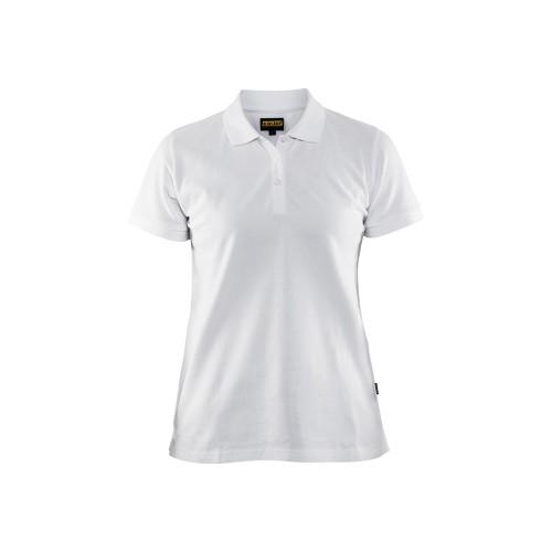 Polo de travail femme Blanc - BLAKLADER - 330710351000