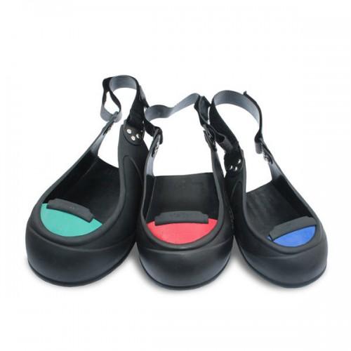 Sur-chaussures de sécurité antiglisse avec embout de sécurité VISITOR - TIGERGRIP