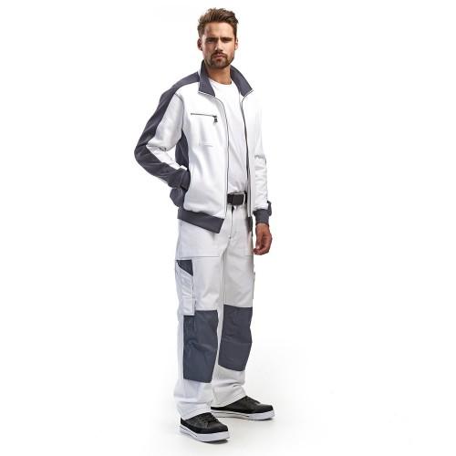 Pantalon de travail Peintre Platrier Plaquiste Blanc - BLAKLADER - 109112101000