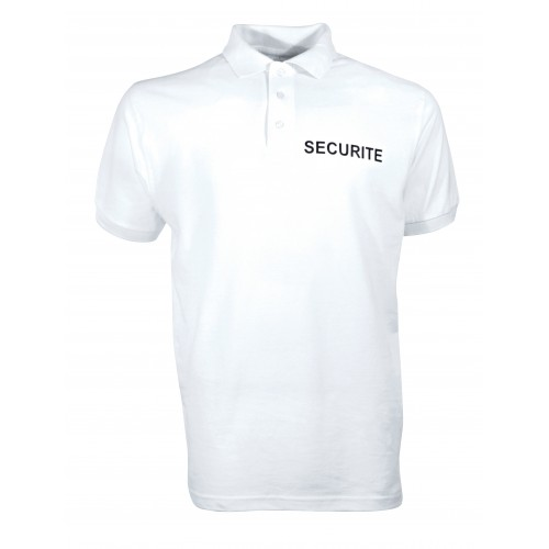 POLO COTON SECURITE