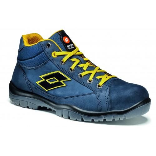 Chaussures de sécurité LOTTO JUMP900 MID Bleu S3 SRC