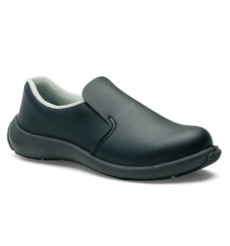 S24 Chaussures De Cuisine De Securite Femme Bianca Noir S2 8192