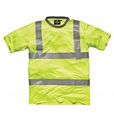 T-Shirt Haute Visibilité DICKIES (Jaune)