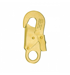 Connecteur crochet de sécurité acier 23 KN ouverture maxi 20mm- antichute - 71121 | TOPLOCK